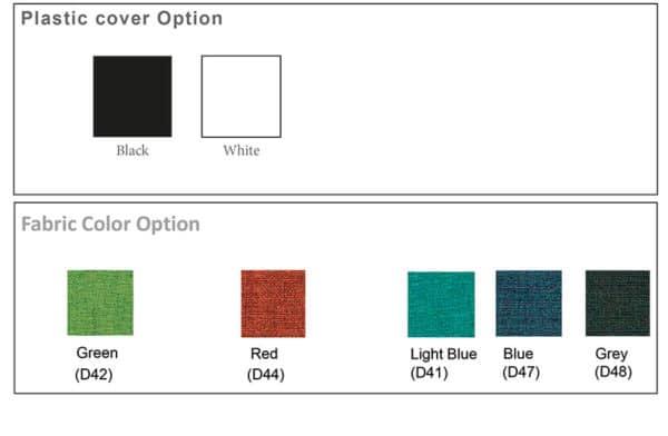 olala stoel kleuren opties